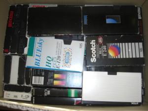 cassettes enregistrées